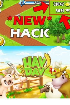 Hay Day App, Hay Day Cheats, Ios, Android, Glitch, Free Games, Cheating, Diamonds, Hacks