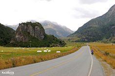 Camino a Villa Ortega, Carretera Austral, Chile #cicloturismo #viajarenbici #carreteraaustral #paisaje