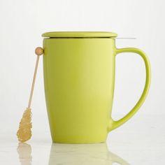 Curve Tea Mug with Infuser, Lime, 15 fl oz  The ultimate multi-tasking tea mug $24.90 15 oz http://websites-buy.com/starbucks-coffee-store