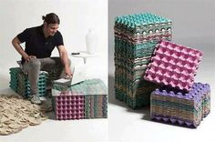 Built from recycled  | Furniture Made From Recycled Products.