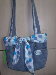 #Upcycle denim purse - Sew Daily gallery