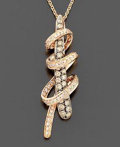 Le Vian Chocolate Diamond Pendant