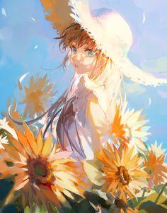 Art Inspo, Kunst Inspo, Art Anime Fille, Anime Art Girl, Anime Angel Girl, Art And Illustration, Fantasy Kunst, Fantasy Art, Pretty Art