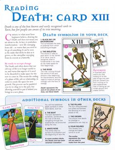 Reading the Death card