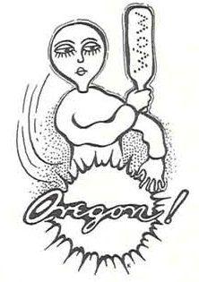 Oregon!  From the 1940 Oregana (University of Oregon yearbook).  www.CampusAttic.com