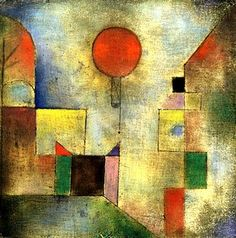 Paul Klee, Red Balloon, 1922