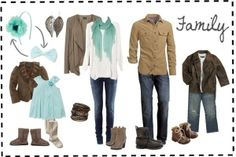 Family Photo What to Wear | What to Wear – Autumn/Winter by claudine