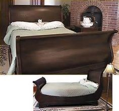 Marston Sleigh Bed
