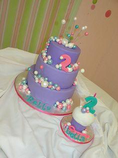 bubble birthday cake - Google Search