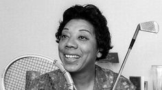 Althea Gibson, the matriarch of African-American tennis deserves much more than being the subject of Black History Month anecdotes. Black History Facts, Black History Month, Althea Gibson, Arthur Ashe, First Prize, Serena Williams, Black Star, Athletic Women, Sports Women