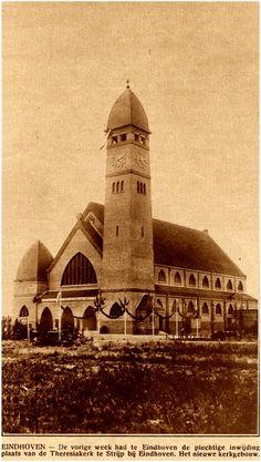 St. Theresiakerk - Strijp 1928 bron: De Eindhovensche Illustraite 1930