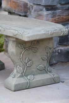 Items available at BF landscape 856-740-1445 www.bflandscape.com ITEM #4700 Concrete Bench, Garden Furniture, Landscape, Home Decor, Outdoor Garden Furniture, Decoration Home, Room Decor, Yard Furniture, Scenery