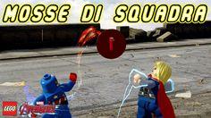 LEGO Marvel's Avengers ITA - Tutte le Mosse di Squadra - PS4 Xbox One PC