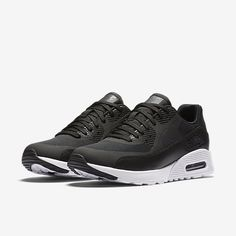 best sneakers 0e93d 9ef2a Nike Air Max 90 Ultra 2.0 Womens Shoes Black White Black Metallic Hematite  Cheap sale