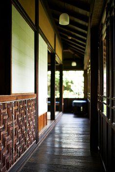 Japanese traditional house in Sankeien Garden, Yokohama, Japan 三渓園