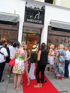 Schuh Hiegl Schön Eröffnung neuer Showroom
