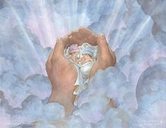 Baby Angels in Heaven - Bing images Twin Boys, Twin Babies, Baby Twins, Stillborn Baby, Jesus Photo, Creation Photo, Digital Ink, Holding Baby, Infant Loss
