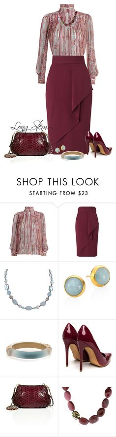 """""""6/25/17"""" by longstem ❤ liked on Polyvore featuring Zimmermann, Miss Selfridge, Charming Life, Gurhan, Alexis Bittar, Zagliani and Yossi Harari"""