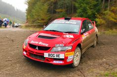 David Bogie wins 2008 Ralliart Evolution Challenge