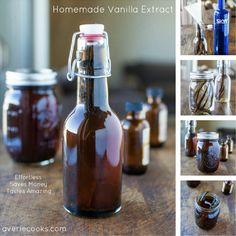 How To Make Homemade Vanilla Extract...http://homestead-and-survival.com/how-to-make-homemade-vanilla-extract-2/