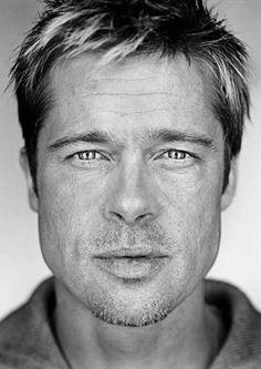 Portrait of Brad Pitt by Martin Schoeller, 2009 Martin Schoeller, Celebrity Photography, Celebrity Portraits, Celebrity Photos, Celebrity Headshots, Brad Pitt, Foto Portrait, Portrait Photography, Photography Gallery