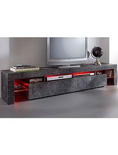 TV Lowboard Schieferfb. Im Heine Online Shop Kaufen Lowboard Grau, Tv Hifi