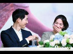 宋仲基 宋慧乔 송중기 송혜교 Song Joong Ki Song Hye Kyo Comrade Moment @ DOTS HK Pres...
