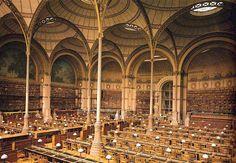 Resultado de imagen de biblioteca santa genoveva