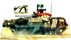 Iraqi BMP-2 First Gulf War 1991