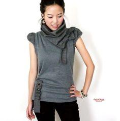 Комбинированное вязание и декор футболок / Худи, свитшоты и толстовки: идеи декора / ВТОРАЯ УЛИЦА