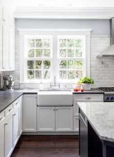 West Cambridge Renovation - Traditional - Kitchen - boston - by LDa Architecture & Interiors