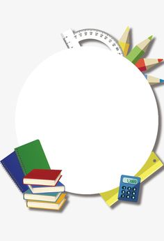 Poster Background Design, Powerpoint Background Design, Math Wallpaper, School Border, Art Classroom Management, School Frame, School Images, School Murals, School Labels