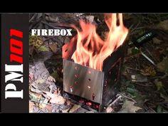 "Firebox 5"" Folding Campfire Stove: First Impressio"