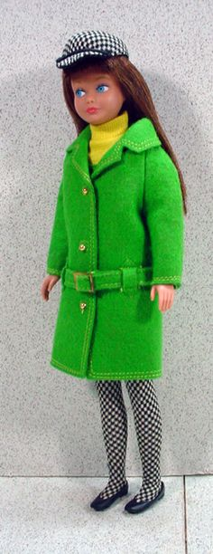 Mattel 1964 Skipper in Complete Town Togs Outfit!  I had this Barbie but not the outfit.