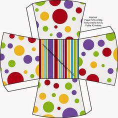 Colour Spots: Free Printable Favor Boxes.
