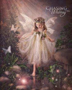 *+*Mystickal Faerie Folke*+*... Dipping... By Artist Chasing Whimsy Fairy Art...