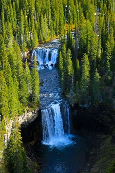 TWIN FALLS - YELLOWSTONE PARK - BACKCOUNTRY