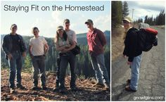 Staying fit on the homestead | trayerwilderness.com