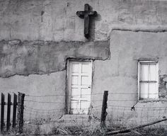 Robert Osborn. Penitente Morada. Truchas, New Mexico. Love the cross.