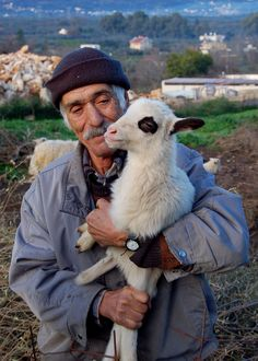 *GREECE ~ Shepherd in Crete, Pavlo's sheep on the Greek island of Crete Mama Mia, Henri Cartier, Myconos, Crete Island, Greek Culture, Greek Isles, Samos, Crete Greece, Fauna