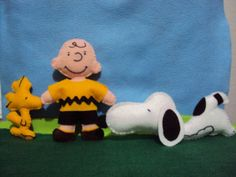 Woodstock, Charlie Brown e Snoopy