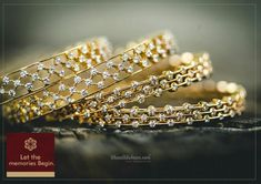 Kanika Jewels | Wedding Jewellery in Bangalore #maangtika #necklace #bangles #earrings #choker #jewellery #indianjewellery #nath #jhumki #bridalmakeup #tika #clutch #kundanjewellery #accessories #minakari #kundan #bracelet #ethnic #choki #anklet #pearls #weddingjewellery#traditional #neckpieces #imitation #bridalsets #statementearrings #musthavebridaljewellry #indianweddingjewellery#beautifulweddingjewellery #traditionalearings #bridaljewelleryideas #shaadidukaan Gold Bangles Design, Gold Jewellery Design, Gold Jewelry, Diamond Jewellery, Silver Bangles, Silver Earrings, Unique Jewelry, Diamond Bracelets, Bangle Bracelets