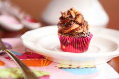Chocolate Swirled Peanut Butter Blast Cupcakes