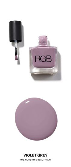 @rgbcosmetics Nail Color Creme in 101 Haze, approved by the Violet Code | Representing the softer side of nudes, this creamy pink shade is modest and sophisticated, and one never tires of wearing it. | Shop now on #VioletGrey, The Industry's Beauty Edit