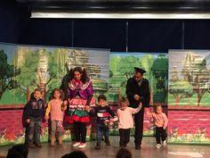 Ümraniyeli çocukların heyecanla takip ettiği çocuk tiyatroları, 2019 yılının son haftasında, üç farklı merkezde sahnelenen oyunlarla çocuklara unutulmaz anlar yaşattı.