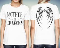 Khaleesi Shirt Mother of Dragon Shirt Khaleesi T-Shirt Game of Thrones Shirt Mother of Dragons Daenerys Shirt Gift for Her Gift idea by quoteshirt from quoteshirt on ETSY. Find it now at http://ift.tt/1TY2s7f!