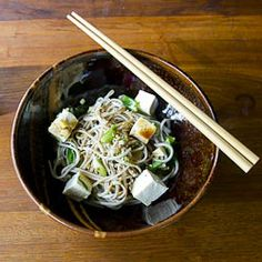 Perfect for a hot day or a detox night...Japanese dinner, Momofuku Style.
