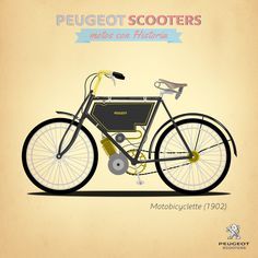 Peugeot Scooters desde 1886 hasta 1955 - Club Peugeot Scooters