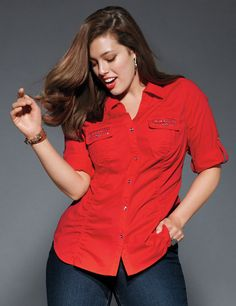 New Arrivals in Womens Plus Size Tops, Shirts & Blouses | Lane Bryant