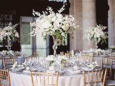 Featured Photographer: Lori Paladino Photography; wedding reception centerpiece idea